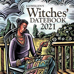 Llewellyn's 2021 Witches' Datebook NEW